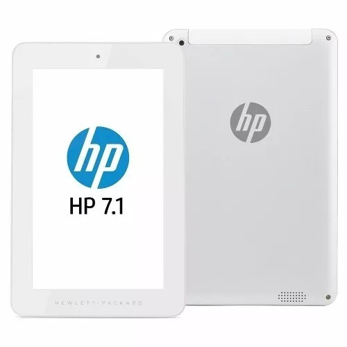 kit 5 - tela touch lente tablet hp 7.1 polegadas 1201 brco