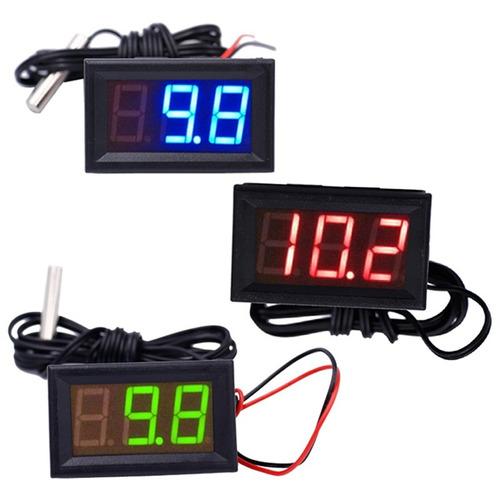 kit 5 termômetro digital automotivo 12v 50~110ºc caminhão