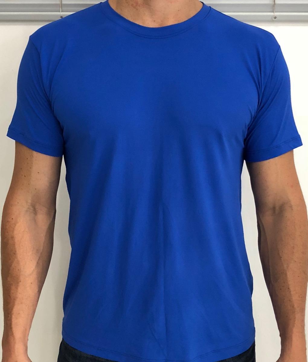Kit 5 Unidades - Camiseta Dry Fit 100% Poliamida Malha Leve - R  138 ... ecbc01621d820