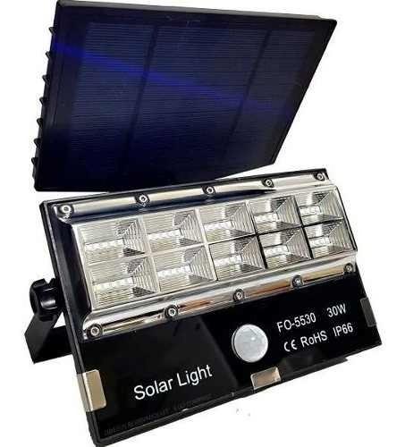 kit 5 unidades refletor micro led 30w acendimento automatico