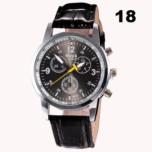 kit 5 unidades relógio masculino yazole original barato