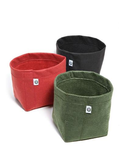 kit 5 vasos de feltro 11 litros king pot frete gratis brasil