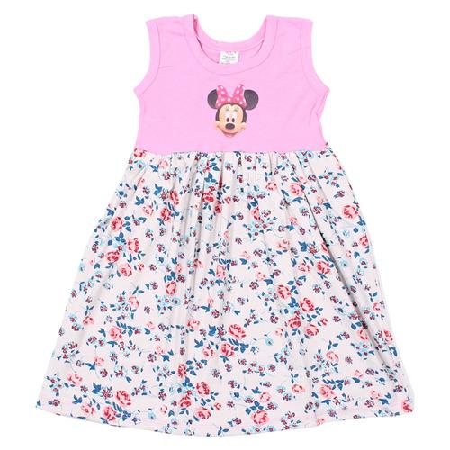 kit 5 vestidos estampado personagem infantil menina princesa