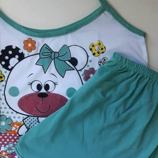 cb026f381 Kit 50 Baby Doll Malha Camiseta - Short Doll Verão Conforto - R$ 569 ...