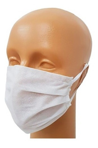 kit 50 barbijos mascarilla respirador descartable premium