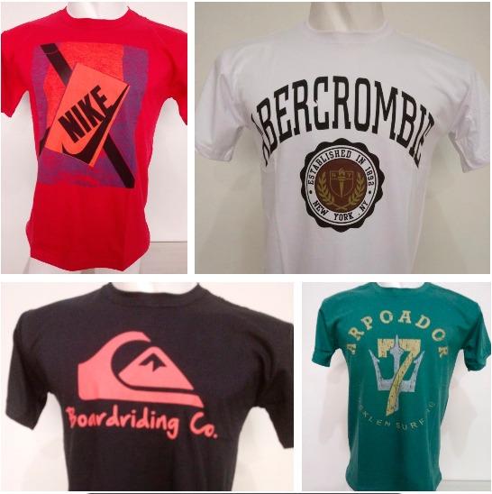 Kit 50 Camisetas Camisas Masculinas Atacado Revenda Blusas - R  719 ... aa900bb8e7