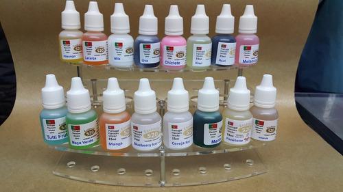 kit 50 essências narguile caneta eletrônico sabores