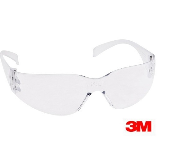 cb55b7b4f133b Kit 50 Óculos Segurança Epi 3m Virtua Incolor Epi Anti Risco - R ...