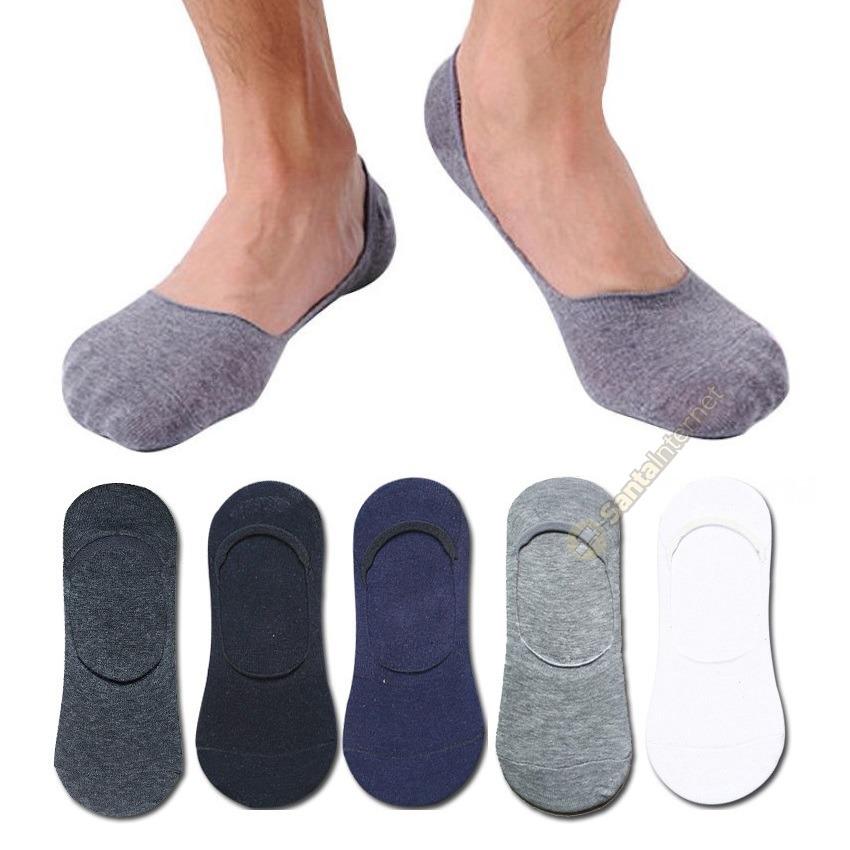 ad3ab5af74 kit 50 pares meias sapatilha invisível masculinas soquete. Carregando zoom.