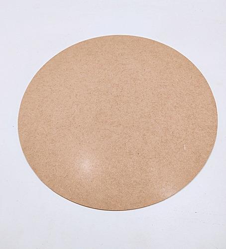 kit 50 sousplast decoração de mesa 35 cm cru em mdf