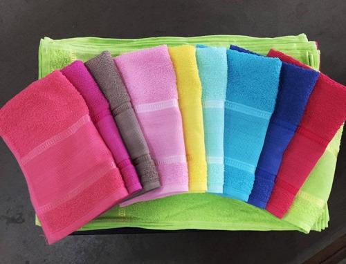 kit 50 toalhas lavabo 29x45 para bordar no atacado