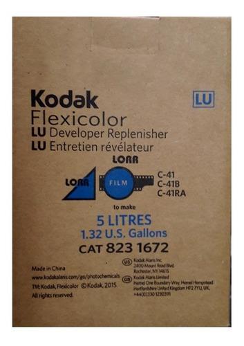 kit 5l de químicos kodak s/ starter para revelação de filmes