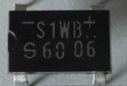kit 5x s1wbs60 p diodo ponte retificador envio imediato