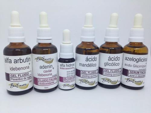 kit 6 ácidos (peeling, arrugas, acné) + neutralizante !!!