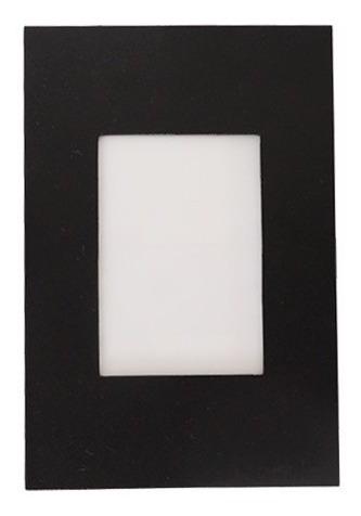 kit 6 balizador parede escada caixa 4x2 branco preto marrom