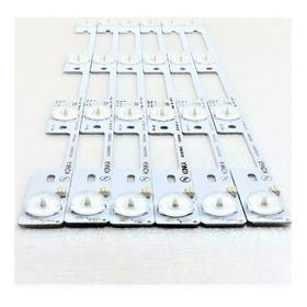 Kit 6 Barras Led Semp Toshiba 40l2400 40l5400 Dl3944 Dl4045