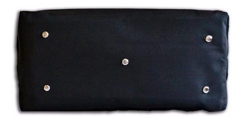 kit 6 bolsa de lona p epis e ferramentas c trava p cadeado