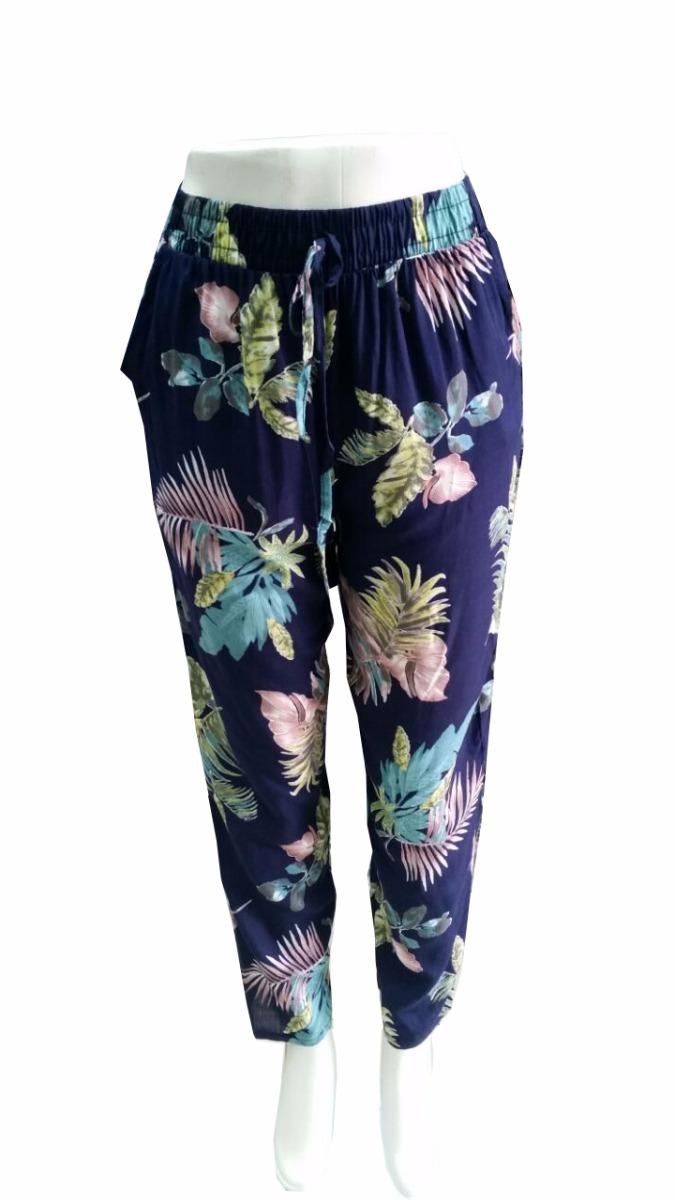 5289d86f3 kit 6 calça pijama viscose estampa floral boca fina atacado. Carregando  zoom.