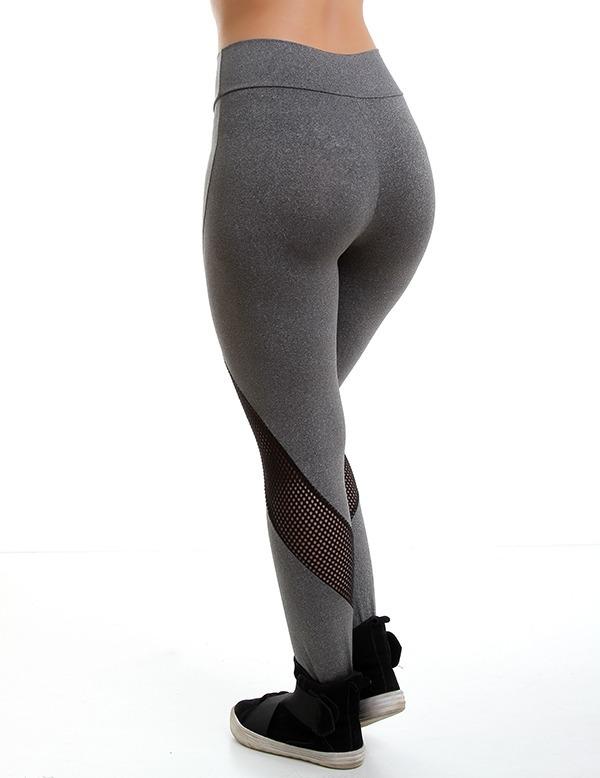 Kit 6 Calças Legging Fitness Roupas Atacado Academia 8748 - R  125 ... 66f3613615b
