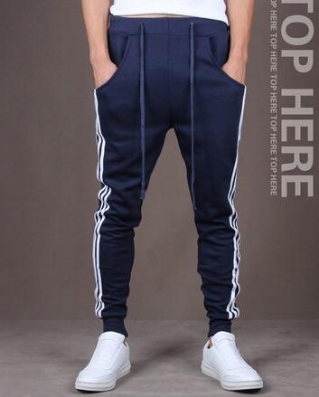 kit 6 calças moletom skinny slim sport luxo- frete grátis
