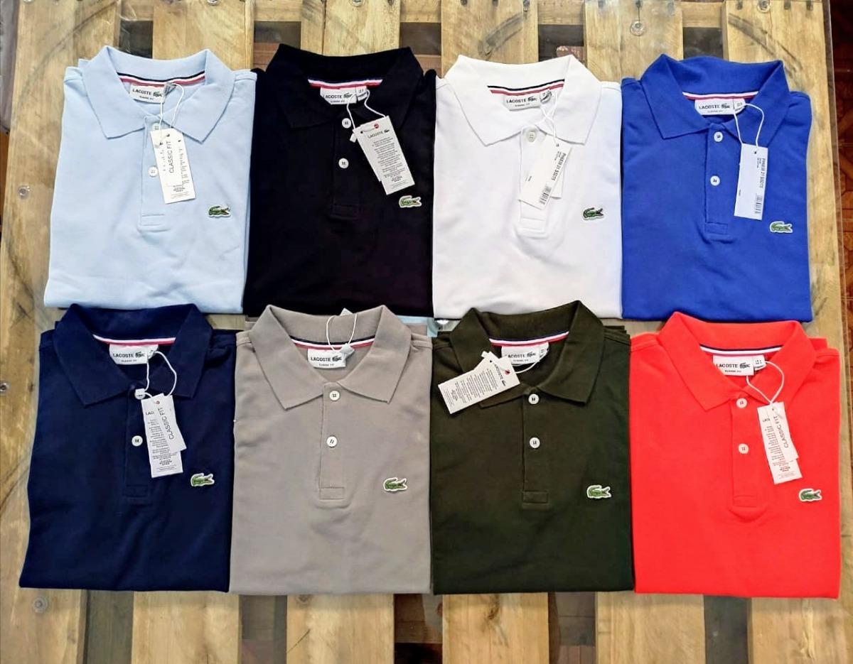 Kit 6 Camisa Polo Exclusivo Lacoste Atacado E Varejo - R  450,00 em ... a07b87a68d