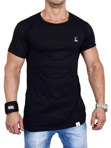 kit 6 camisas camisetas masculina long line lisa viines 2019