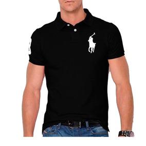 1242f5bf80 Camisa Polo Masculina Com Recortes no Mercado Livre Brasil