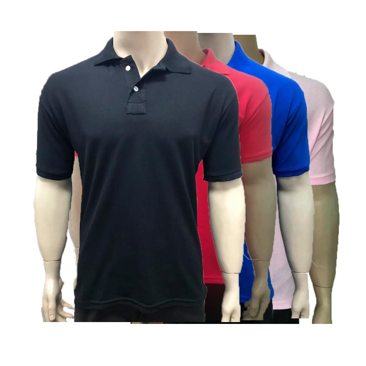 5241298fac63f kit 6 camisas gola polo marcas basicas atacado revenda lucre. Carregando  zoom.