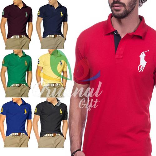 Kit 6 Camisas Gola Polos Revenda Pronta Entrega   Promoção - R  114,35 em  Mercado Livre c269d1f299