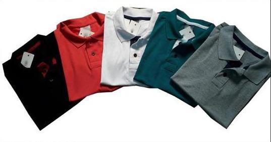 fe630584e7 Kit 6 Camisas Plus Size Masculina Gola Polo Xg Xgg Xxg - R  167