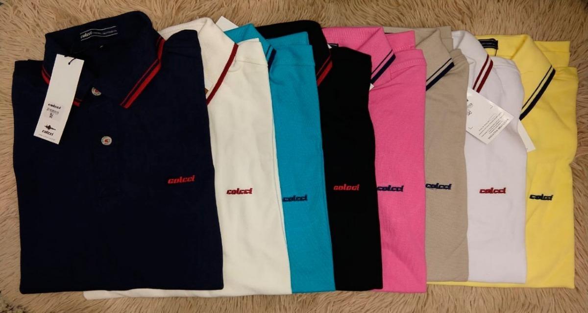62fdce9ede kit 6 camisas pólo  3 camisas colcci + 3 camisas aramis. Carregando zoom.