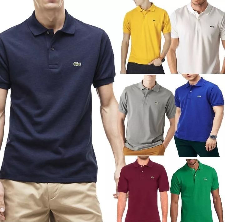 Kit 6 Camiseta Camisa Gola Polo Masculina Revenda Atacado ! - R  179 ... a77ae05268316