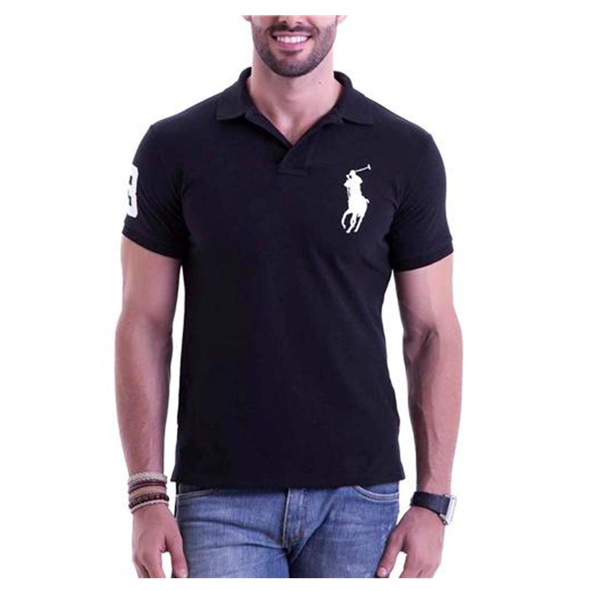 Kit 6 Camisetas Gola Polo Masculina Grandes Marcas Atacado - R  120 ... 0b124b2475b1f
