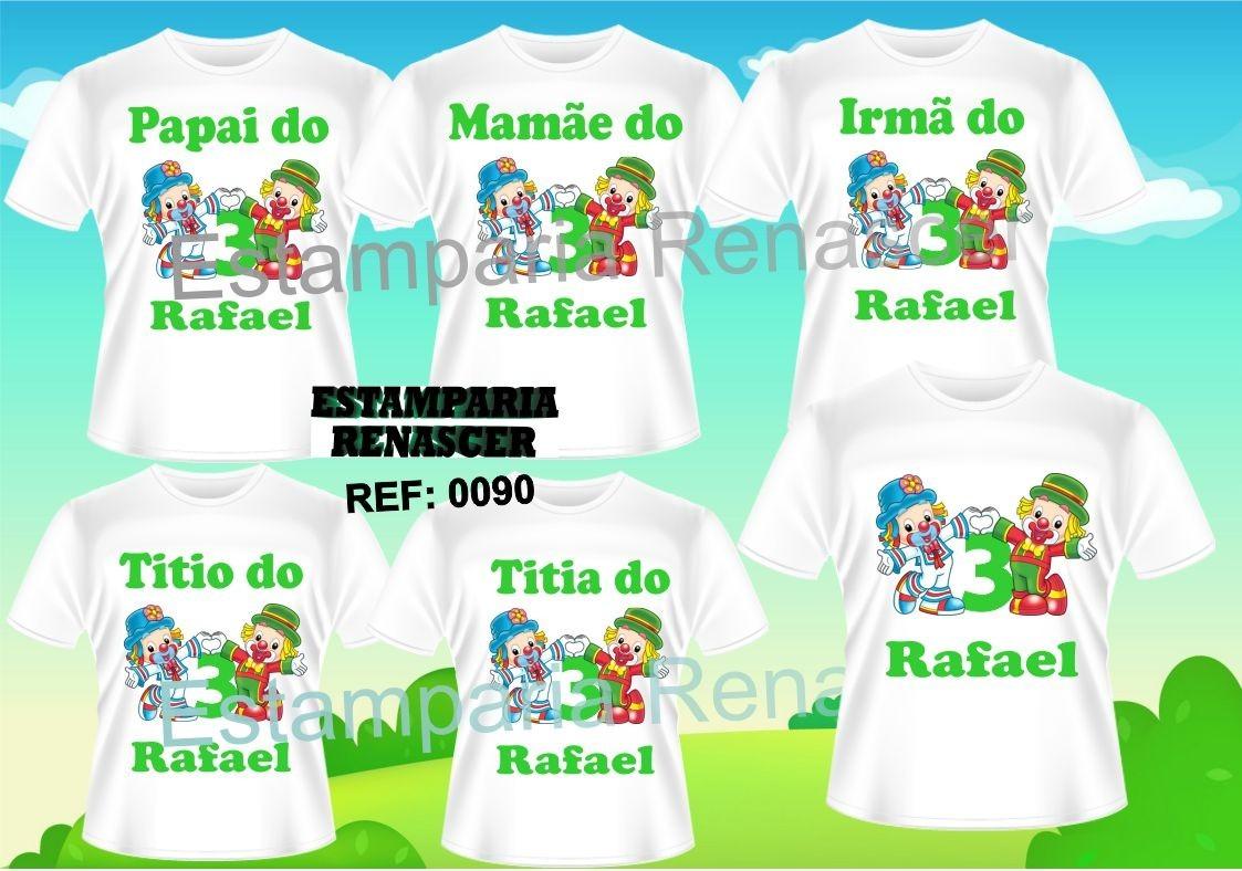 kit 6 camisetas personalizadas aniversario patati patata. Carregando zoom. 2cfd620869772