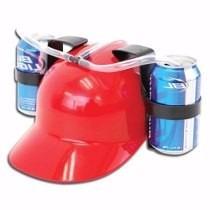 kit 6 capacetes porta latas beberrão - melhor preço!