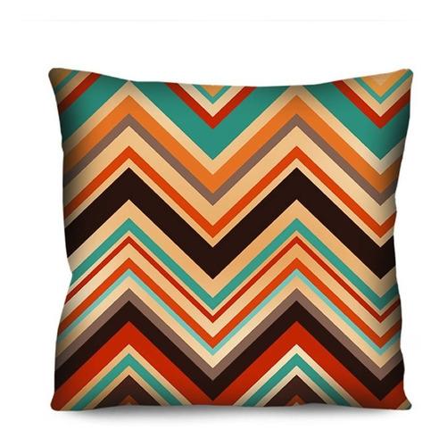 kit 6 capas de almofada colorida para sofá 42cm r97