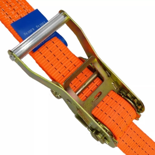 kit 6 catraca + 6 cinta amarração 3 ton 9 metros rabicho j