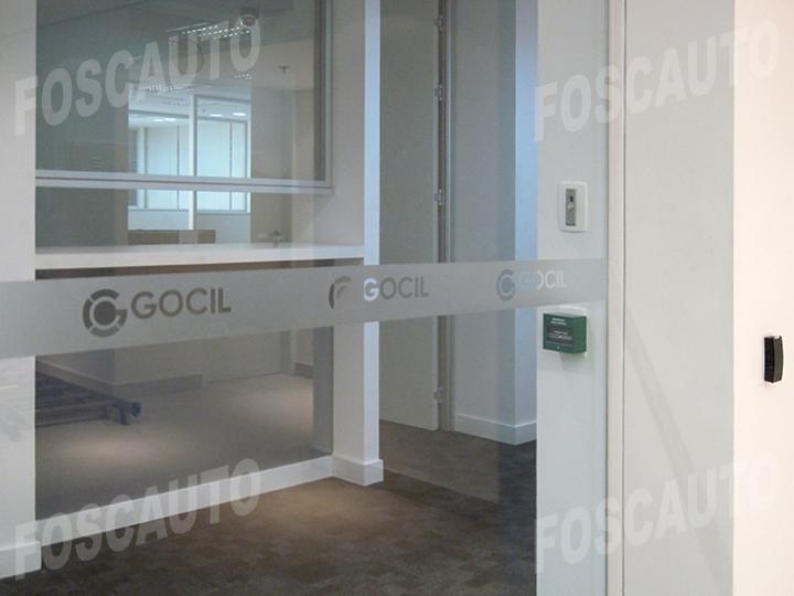 Kit 6 faixas adesivo jateado p portas de vidro 1 20m x for Adesivos p porta de vidro