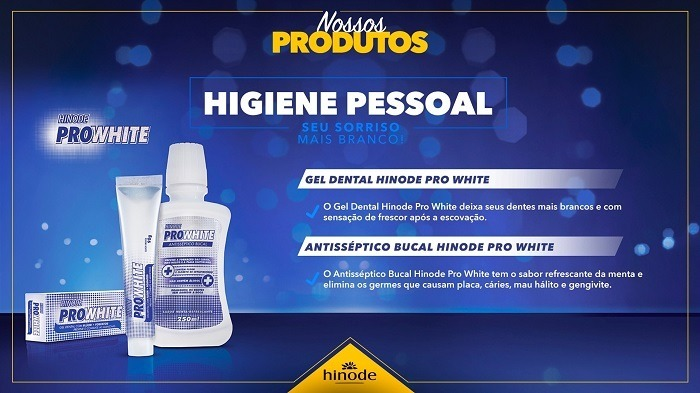 Kit 6 Gel Dental Hinode Pro White Clareador 90g R 48 00 Em