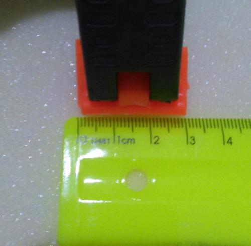 kit 6 grampos câmera tampa fotográfico studio/vídeo 7cm.