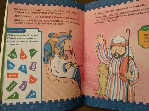 kit 6 livros história e passatempos