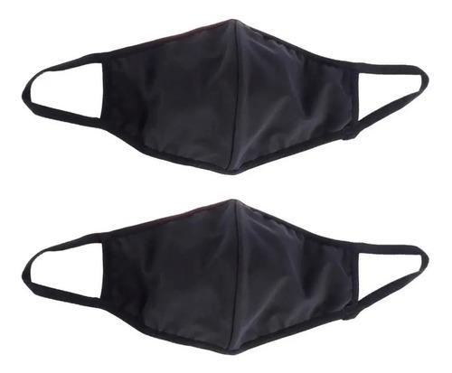 kit 6 máscara de proteção tecido duplo lavável reutilizável