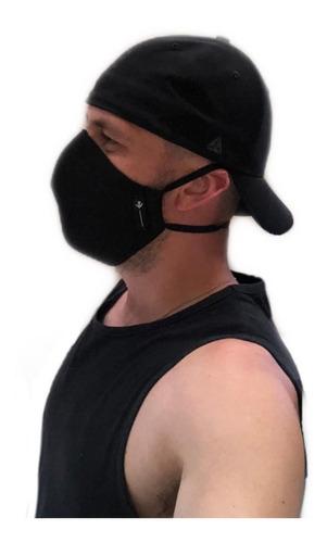 kit 6 mascara reutilizável tecido lavável de dupla camada