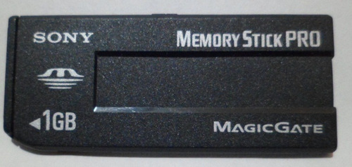 kit 6 memory stick pro magic gate 1 gb novo