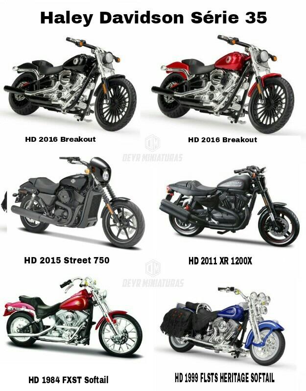 35 maisto motocicleta 1:18 Harley Davidson modelo 1984 fxst softail