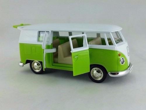 kit 6 miniaturas ferro volkswagen kombi combi perua 1962 ori