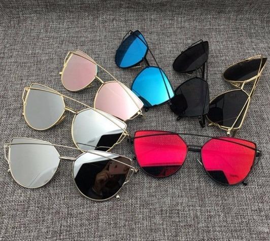 88d034fd2579b Kit 6 Oculos De Sol Feminino Atacado Starlight Gato Revenda - R  520 ...