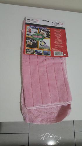 kit 6 panos flanelas micro fibra limpeza polimento carro