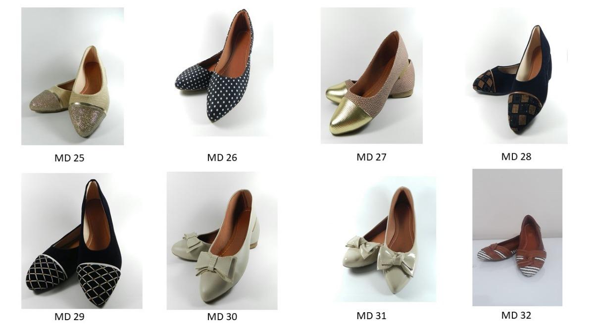 968c18c81e Kit 6 Pares Promoção Sapatilha Sapatos Femininos Barato - R$ 390,00 ...