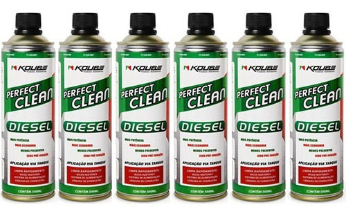 kit 6 perfect clean para motor diesel koube